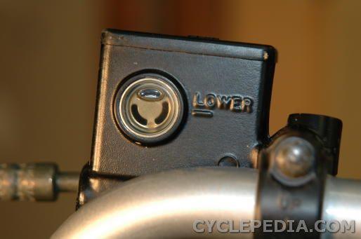 brake fluid inspection DVX400 KFX400 LT-Z400