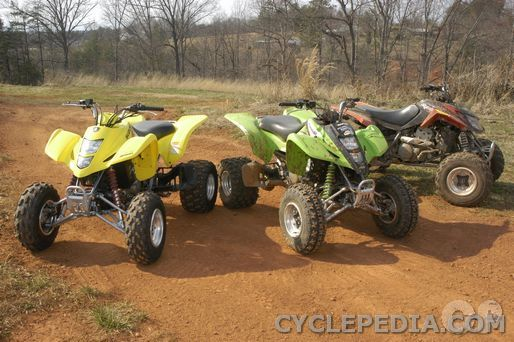 2004 2008 dvx400 kfx400 lt z400 online atv service manual cyclepedia rh cyclepedia com Suzuki ATV Sale Tracks On Suzuki Z400