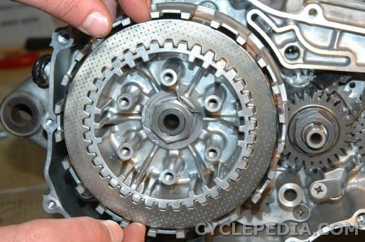 Kawasaki KLX400 Suzuki DR-Z400 clutch rebuild