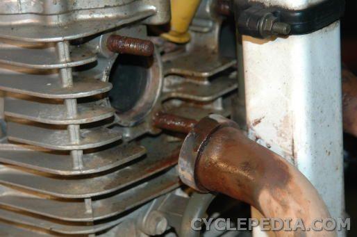 XR650L XR600R Stud Removal
