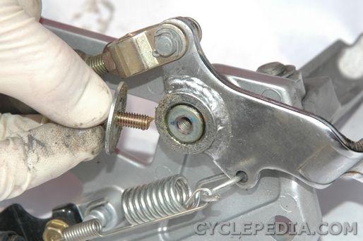 brake pedal removal ninja ex250r