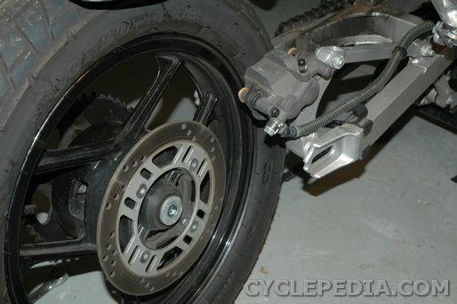 rear wheel ninja ex250r