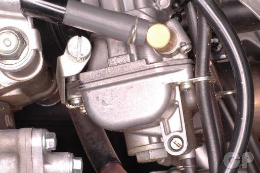 VIN and Engine Number Location | HONDA CRF450 Service Information