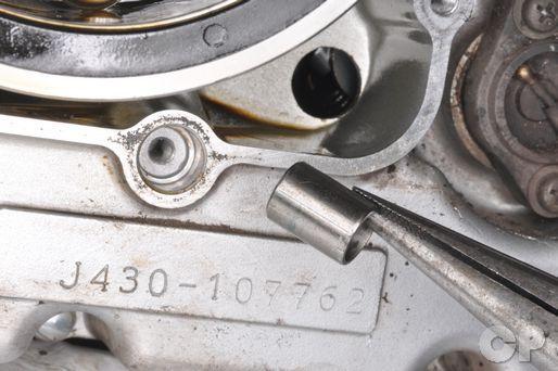 Left Side Engine Components | Suzuki GZ250 Marauder Service