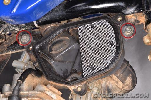 Air Box | Yamaha TT-R90 Service Manual