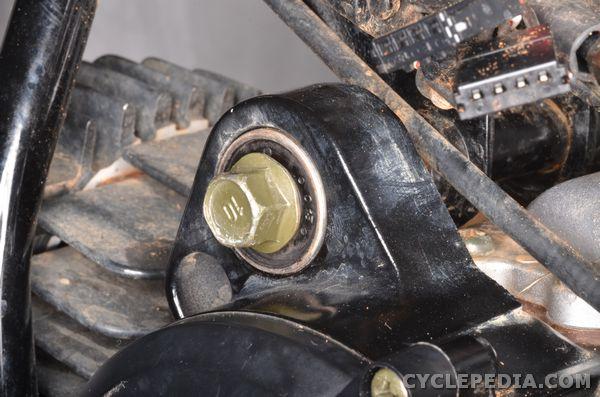 Engine Installation | Yamaha PW50 Service Manual