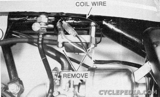 ignition coil removal cyclepedia kawasaki mt1 kv75 online manualKawasaki Ignition Coil Wiring Diagram #19