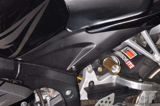 Honda CBR600RR Side Cover Removal