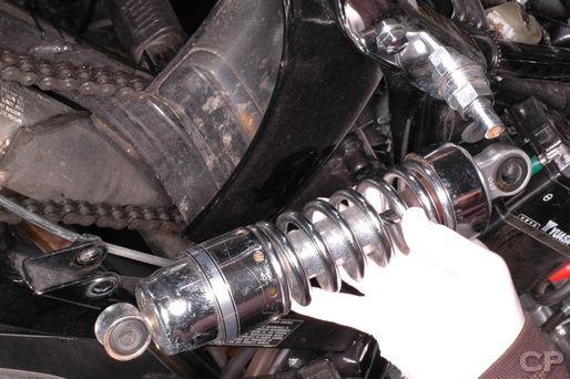 Honda CMX250 Rear Shock Absorber installation