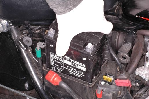 Honda Rebel 250 Battery Replacement