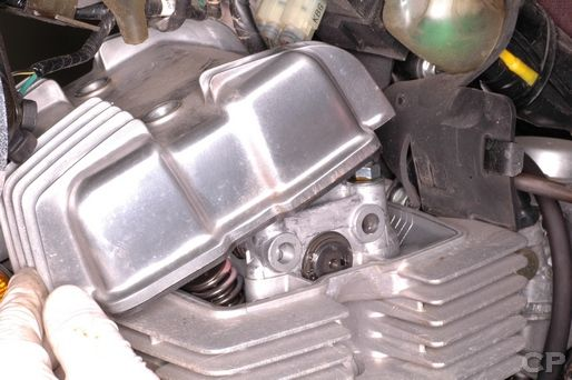 rebel 250 honda cmx250c motorcycle service manual cyclepedia honda rebel 250 cylinder head cover removal