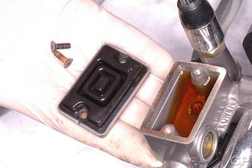 Honda Rebel 250 front brake master cylinder