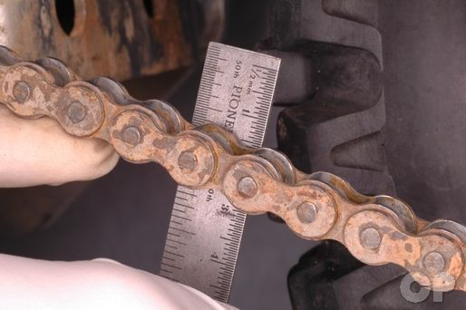 Kawasaki KLX110 Drive Chain Adjustment