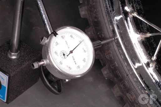 Kawasaki KLX110 Wheel Runout