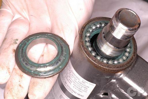 Kawasaki KLX110 Steering Stem Bearing Replacement