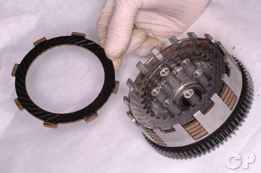 Kawasaki KLX110 Clutch Rebuild