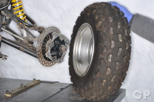 Replace the wheel bearings on your Yamaha YFZ350 Banshee with the Cyclepedia.com Yamaha YFZ350 Banshee Online Service Manual