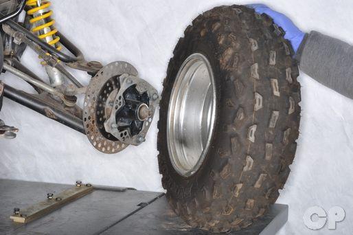 Replace the wheel bearings on your Yamaha YFZ350 Banshee with the Cyclepedia.com Yamaha YFZ350 Banshee Online Service Manual