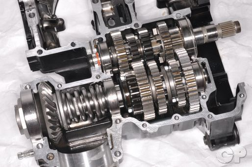 Yamaha VMax mainshaft and countershaft