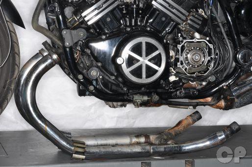 Yamaha VMax exhaust removal