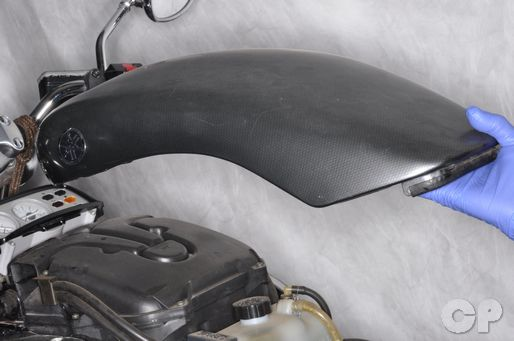 Yamaha VMax top cover removal