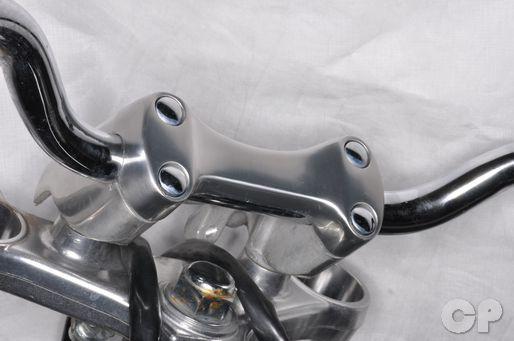 Yamaha VMax handlebar clamp
