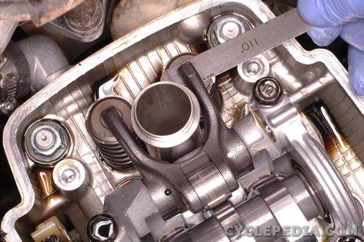 Honda CRF450 valve adjustment procedure