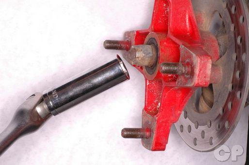 TRX250R Wheels and Hubs