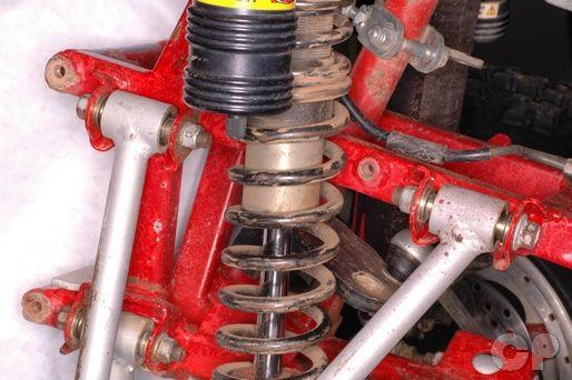 TRX250R Front Suspension
