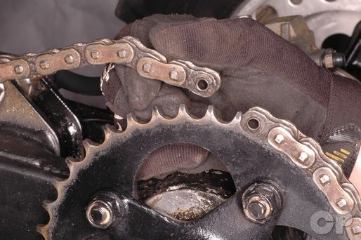 Drive Chain Adjustment and Removal