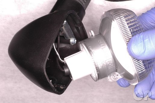Suzuki Katana GSX600F and GSX750F light bulb replacement