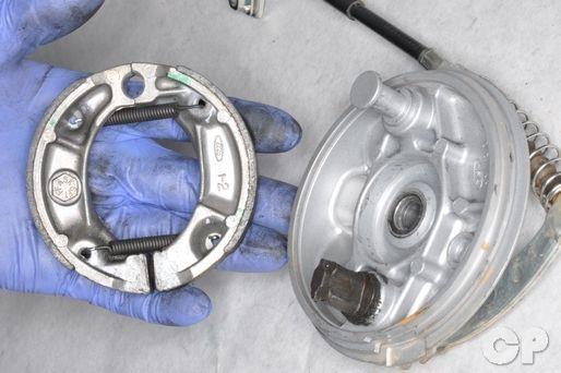 CRF100F CRF80F XR100R XR80R CRF100 CRF80 XR100 XR80 front rear brake drum shoes