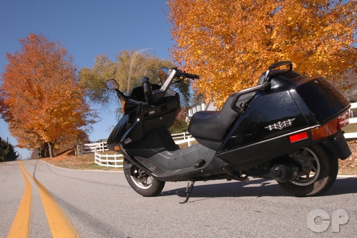Honda Helix 1986-2007 CN250 Scooter Service Manual - Cyclepedia on