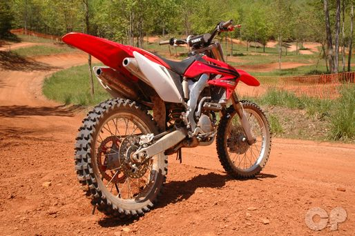 crf250r honda 2004 2009 motorcycle service manual cyclepedia instant