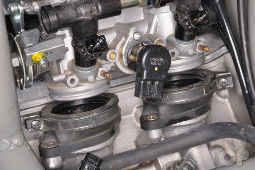 Suzuki Burgman AN650 AN650A AN 650 throttle body removal