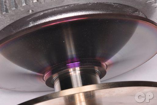 Suzuki Burgman AN650 AN650A AN 650 CVT Belt pulley