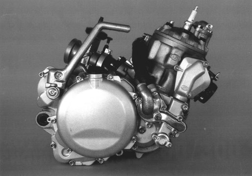 Official 1991 1995 Ktm 250 300 Factory Engine Service Manual Cyclepedia