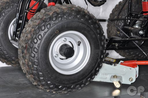 suzuki lt-a50 quadmaster atv wheel removal