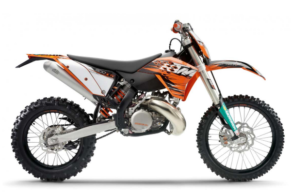 Official 2004-2010 KTM 250 300 Two-Stroke Manuals