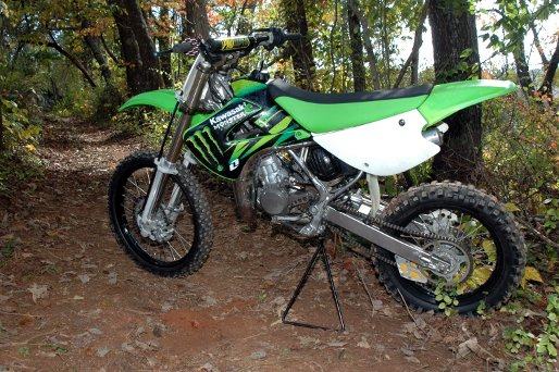 Kawasaki Kx85    Kx100