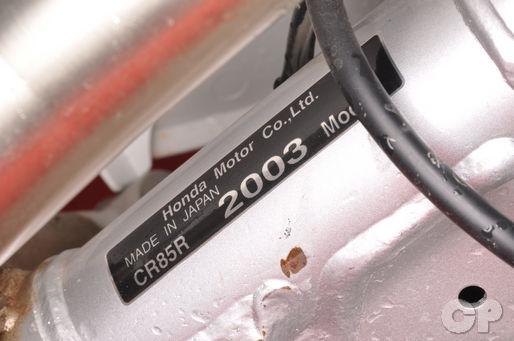 1995 2007 Honda Cr80 Cr85 Service Manual Cyclepedia