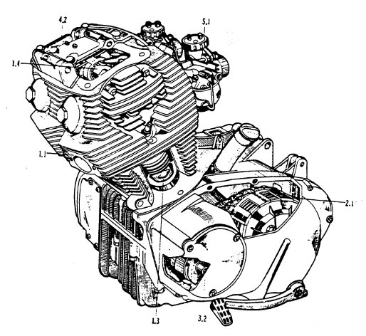 Honda 250 305cc Online Engine Repair Guide By Bill Silver on 1100 Honda Shadow Wiring Diagram