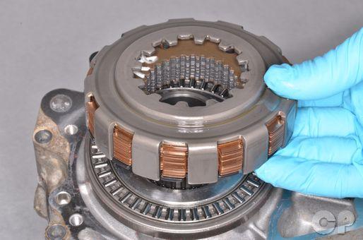 Prairie 700 Brute Force TwinPeaks differential fluid oil change clutch pack