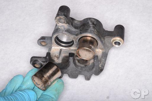 Kawasaki Prairie KVF 650 700 LT-V700F brake caliper seal replacement