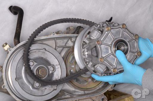 Suzuki LTV700F and Kawasaki Prairie Brute Force Belt Remove Replace