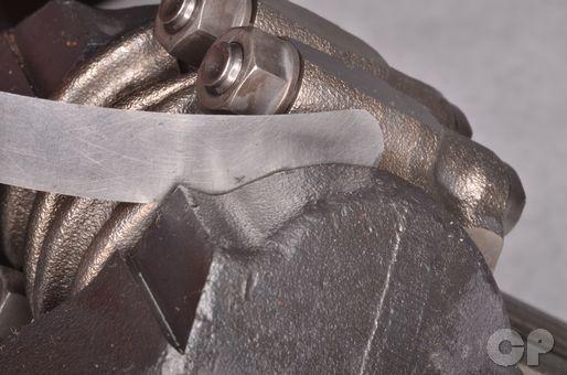 Connecting rod big end clearance crankshaft inspection tolerances KVF650