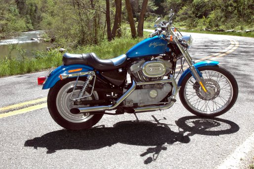Sportster Harley-Davidson XL883 XL1200 Manual 1991-2003 - Cyclepedia