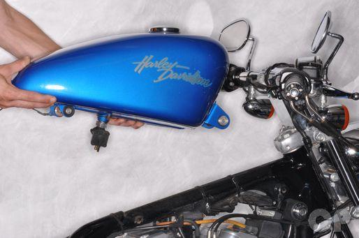 Harley Davidson 1991 - 2003 fuel tank removal.