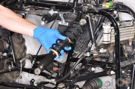 suzuki eiger lt-f400 400f front suspension