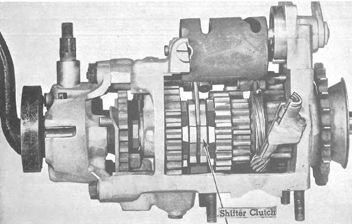 Harley Davidson transmissions information for 3 speed and 4 speed models.